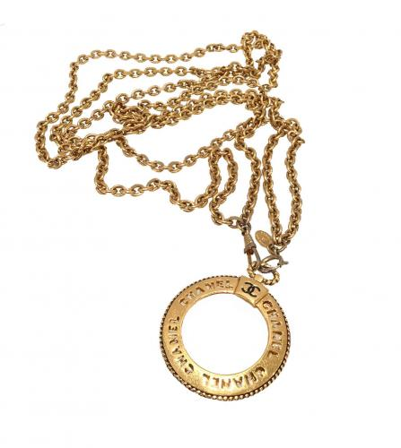 CHANEL LOUPE LONG NECKLACE