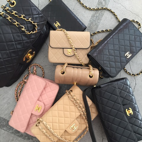 Select rare Chanel bags for your shop