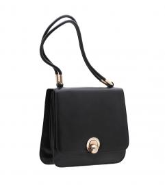 LOEWE VINTAGE BLACK SHOULDER BAG
