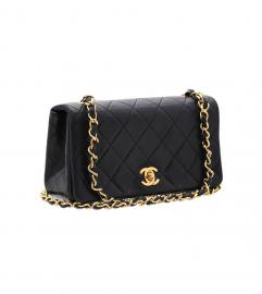 CHANEL VINTAGE CLASSIC 19cm SHOULDER BAG