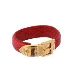 GUCCI VINTAGE RED BANGLE
