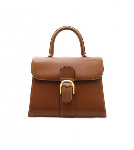DELVAUX BROWN HANDBAG