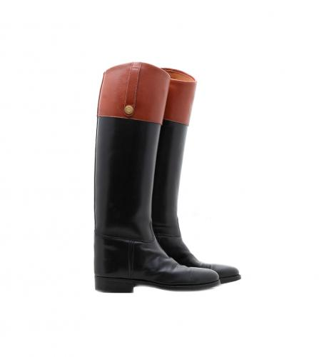 GUCCI VINTAGE LETHER BOOTS