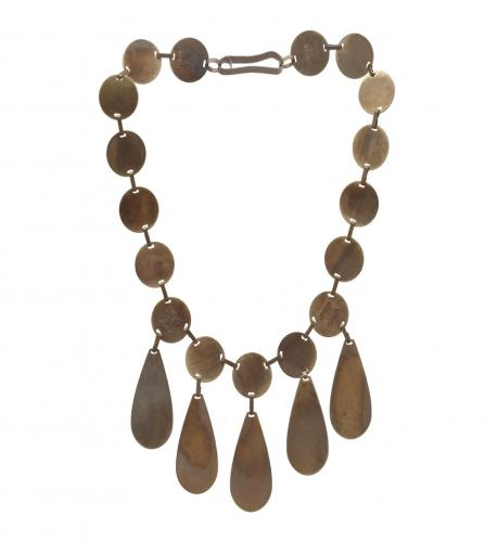 Celine tear drops vintage necklace
