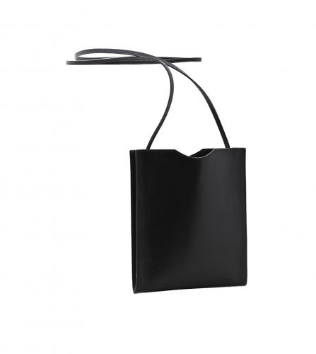 HERMES BLACK CARFLEATHER SHOULDER