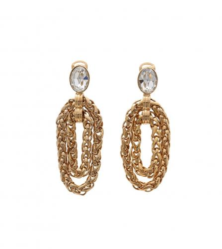 YSL VINTAGE EARRINGS